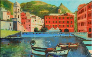 Italian Village Decor Giovanni Carrus Italian Art