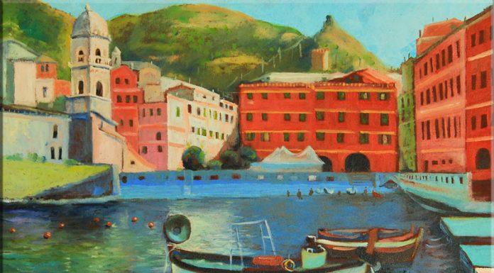 Italian Village Decor Giovanni Carrus Italian Art
