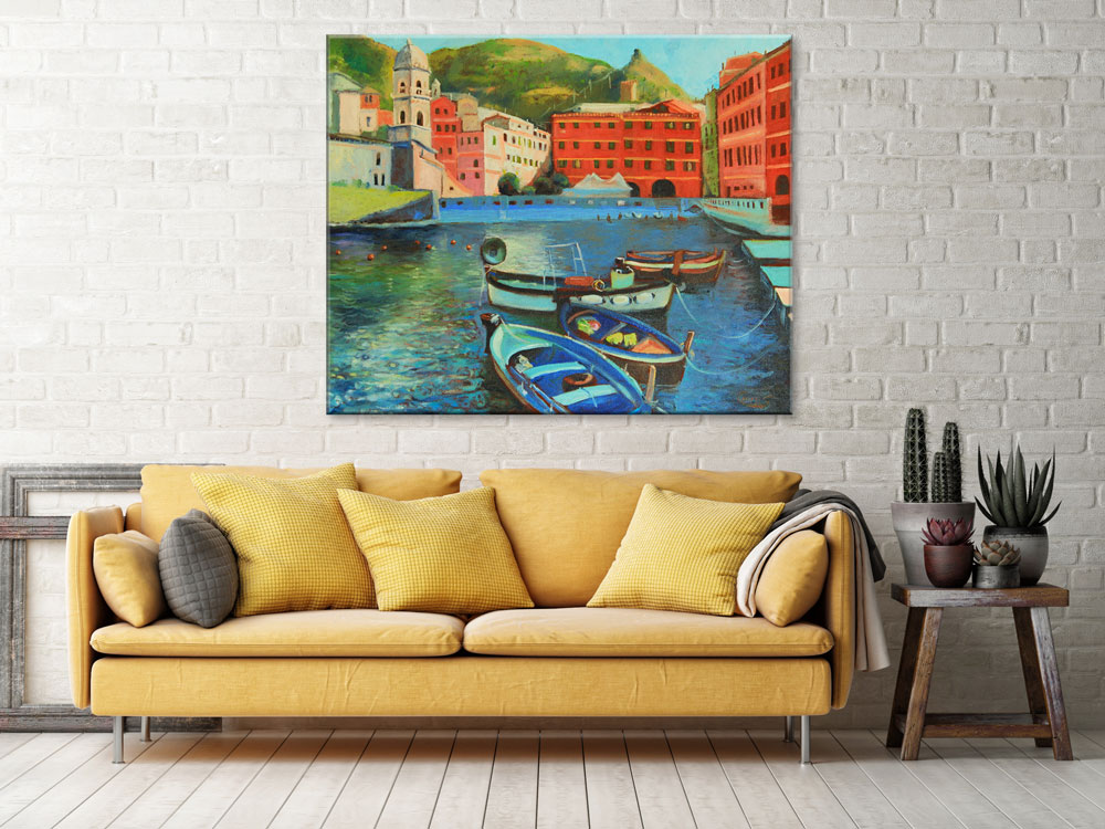 italian-coastal-village-art-print-wall-decor-ideas-3